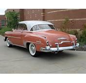1952 CHEVROLET DELUXE 2 DOOR HARDTOP  Rear 3/4 161644