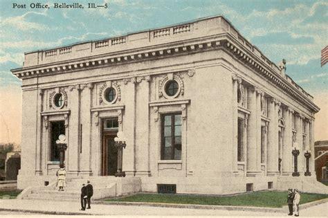 Belleville Il Post Office by U S Post Office School District 118 Office