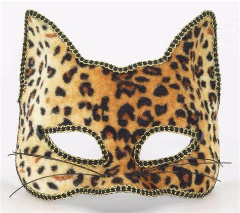 printable cheetah mask venetian masquerade party half mask sexy cat leopard