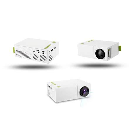 Proyektor Mini Indonesia proyektor mini lcd 1080p 600 lumens yg310 white