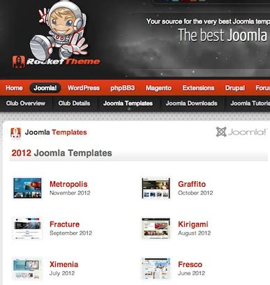 free and premium joomla 3 0 templates