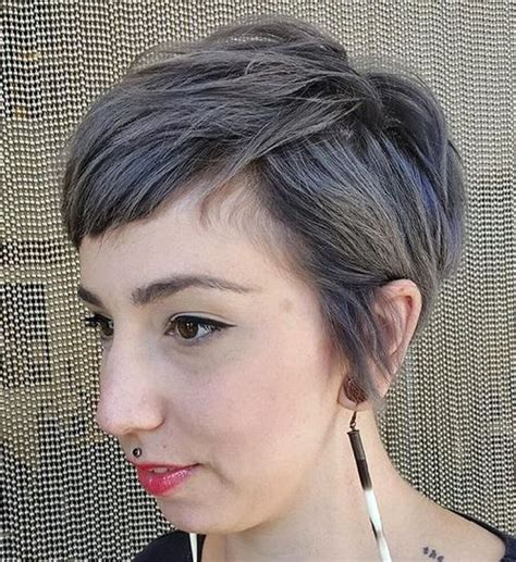 extremely short hair cuts for women with gray hair over 50 years old top 40 hottest very short hairstyles for women