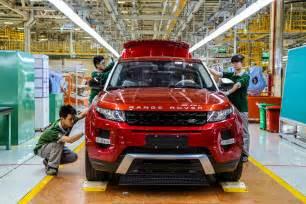Jaguar Land Rover Production Jaguar Land Rover Factory Kicks Production