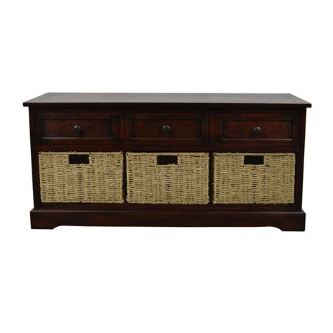 mahogany storage bench linon home decor cynthia chinese hardwood mdf plywood storage bench in walnut 83985wal