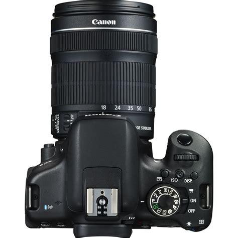 750d Canon canon eos 750d 18 135mm is stm objektiv in wlan kameras