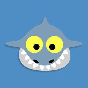 printable shark mask template 101 best strand images on pinterest art ideas ocean