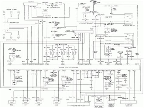 wiring diagram 94 toyota camry wiring diagram with