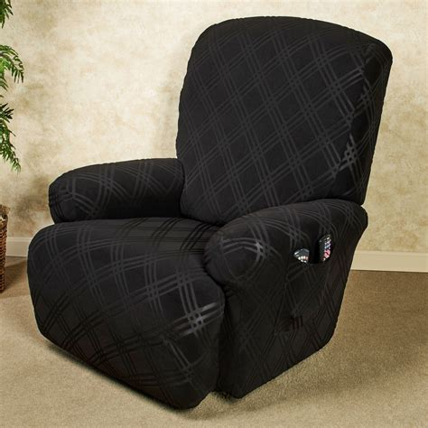 double recliner slipcover double diamond stretch recliner slipcovers