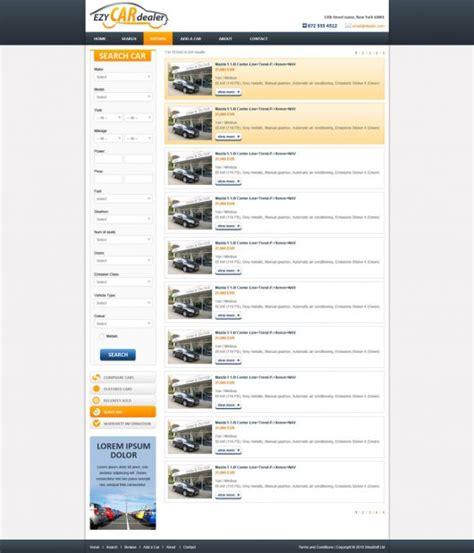 Free Car Website Template Free Car Dealer Web Templates Phpjabbers Opt In Website Templates