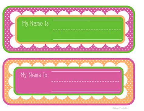 Mrs Smith S Class Student Desk Name Tags Student Desk Name Tags