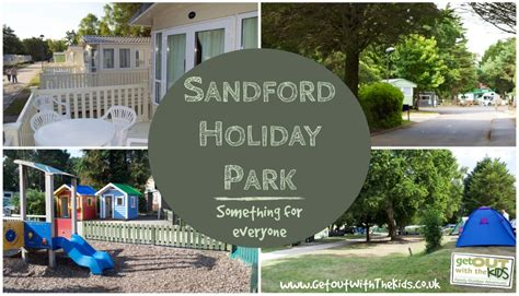 Caravan With Awning Sandford Holiday Park