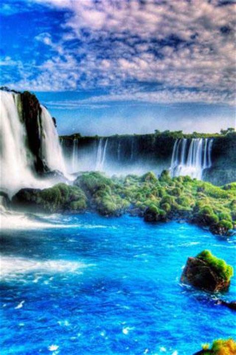 waterfall  wallpaper   waterfalld