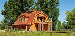 barn wood home great plains gambrel project lbr small cabin plans with loft together likewise