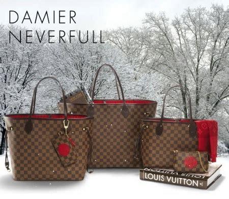 Tas Lv Donna Set Damier louis vuitton la bag neverfull damier lussuosissimo
