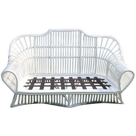 vintage ficks reed rattan sofa for sale at 1stdibs