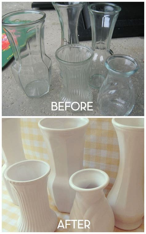 How To Spray Paint Glass Vases by 25 Unique Spray Paint Vases Ideas On Spray