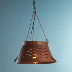 colander light fixture 1000 ideas about colander light on light