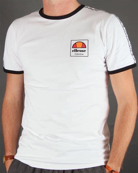 Tshirt Ellesse New One Tshirt ellesse agosti ringer t shirt white mens