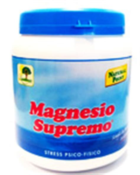 magnesio supremo a cosa serve carenza di magnesio sintomi e cause a cosa serve il