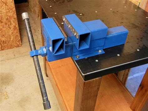 homemade bench vise plans how to make a steel bench vise ibuildit ca