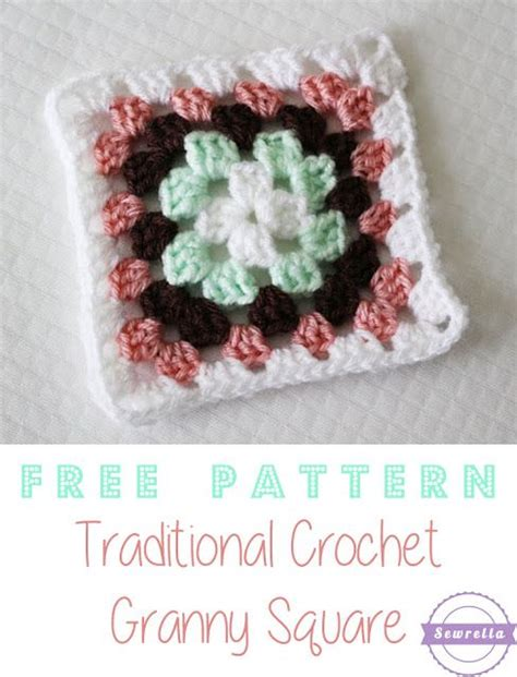 video tutorial granny square easy traditional crochet granny square with video tutorial