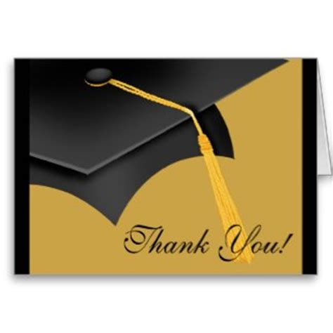 template for thank you card for graduation find graduating wording sles for thank you cards www