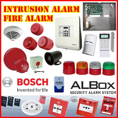 Alarm Albox alarm motion detection infrared sensor bosch intrusion