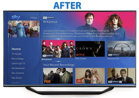 sky layout update sky has announced its biggest update to sky q this is
