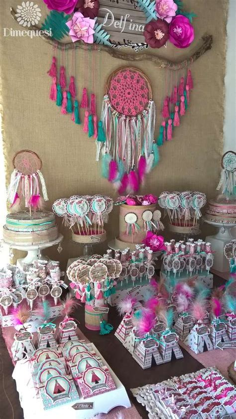 Boho Chic Quinceañera Party Ideas   Photo 1 of 28   Catch