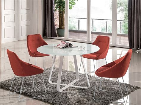 multi colored fabric dining chairs high class multi colored with glass top fabric 5 pc