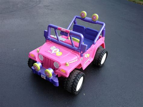 barbie jeep power wheels power wheels barbie jammin jeep ebay upcomingcarshq com