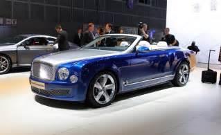 Cost Of Bentley Convertible Nuevo Bentley Mulsanne Redise 241 Ado Y Con Tres Versiones