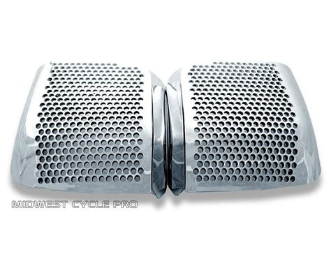 Spaker Hello Wings chrome rear speaker accents for honda gl1500 goldwing 88
