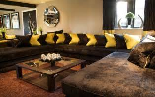 delightful How To Design Curtains For Living Room #1: dazzling-living-room-decorating-ideas-brown-sofa-room-decorating-ideas-home-picture-of-on-exterior-gallery-living-room-ideas-brown-sofa-curtains.jpg