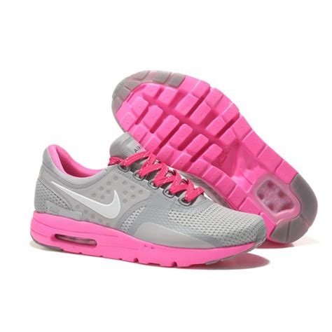 gray and pink nike running shoes nike air max zero s running shoes gray pink for sale