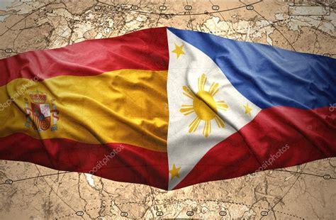 Spain In The Philippines philippines and spain stock photo 169 ruletkka 39648537