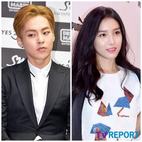 film baru xiumin exo noona romance bersemi kim so eun xiumin exo main drama