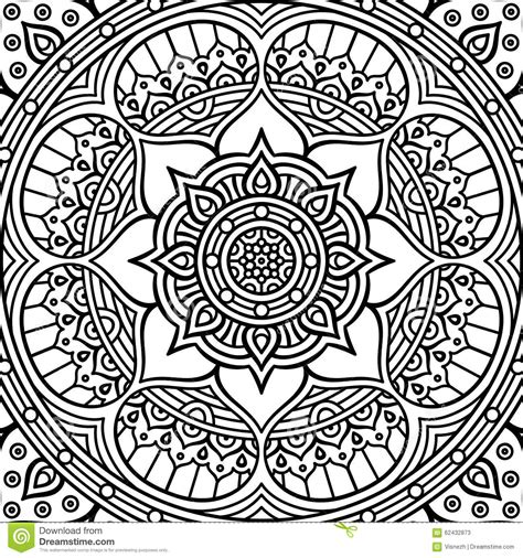 mandala coloring pages vector mandala coloring page stock vector image 62432873