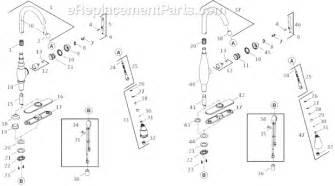 Kohler Kitchen Faucet Parts Diagram Kohler K 690 Parts List And Diagram Ereplacementparts Com