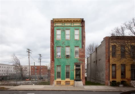 baltimore house ben marcin last house standing is a study of solitary row houses photos