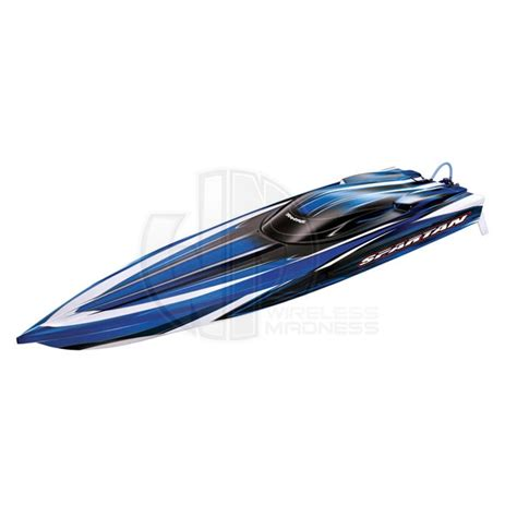 traxxas spartan boat traxxas spartan new tqi 2 4ghz rtr brushless rc boat