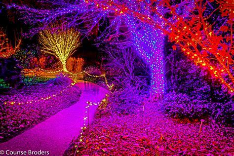 christmas lights botanical gardens