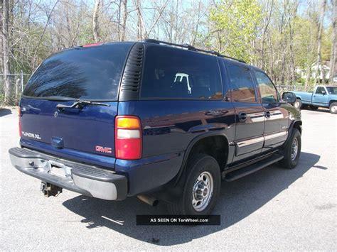 6 Door Suburban by 2002 Gmc Yukon Xl 2500 Slt Sport Utility 4 Door 6 0l