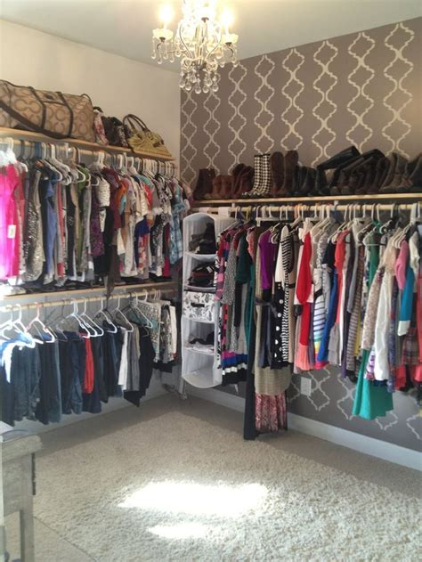 how to turn a bedroom into a closet extra bedroom turned into walk in closet this is what i