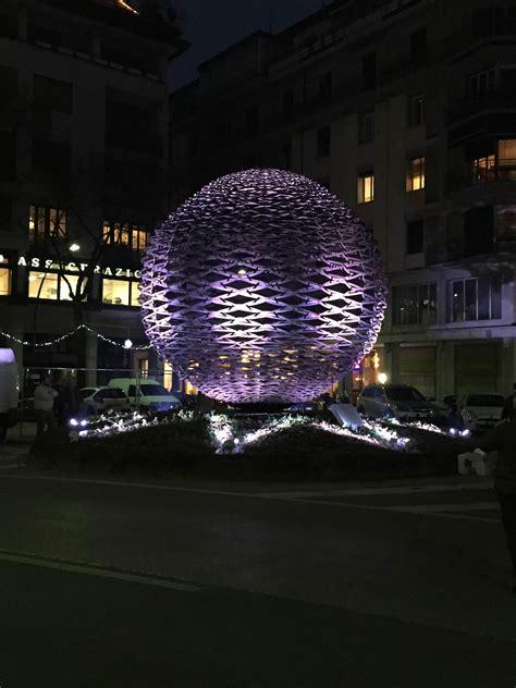 illuminazione treviso grande sfera di toni benetton 4 12 2015 mind srl