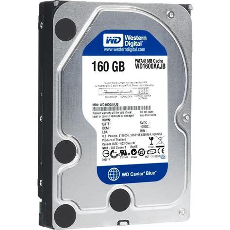 Harddisk Wd 160 Gb storage drives western digital drives western digital wd1600aajb caviar blue 160gb