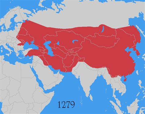 mongol empire map image mongol empire map