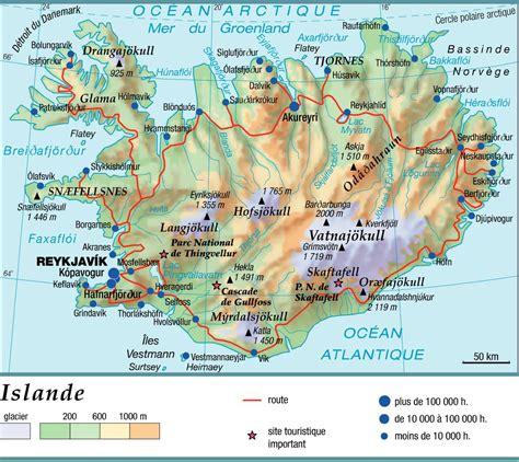 0004490363 carte touristique jersey en carte touristique islande voyages cartes