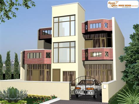 duplex house duplex house design apnaghar house design page 5