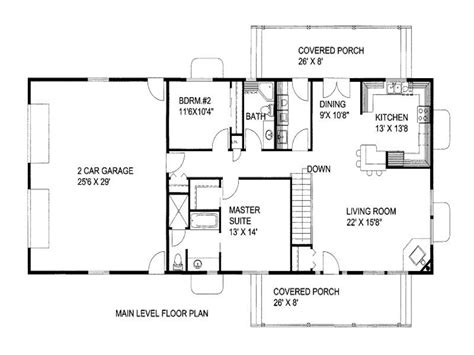 1300 sq ft floor plans 1500 square foot house plans 2 bedroom 1300 square foot
